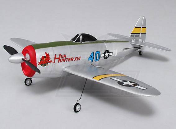 P-47 Ultra Micro 4CH 400mm (RTF) (Mode 1)