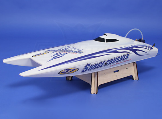 Super Surge Crusher 90A Twin-Hull Brushless R/C Boat (730mm) (ARR)
