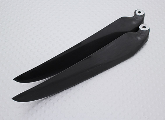 Folding Carbon Infused Propeller 11x6 Black (1pc)