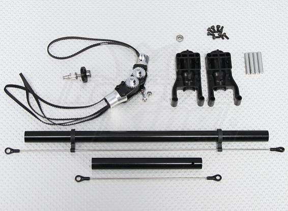 Scale Helicopter Offset Tail Conversion Kit (Trex/HK 450 compatible)
