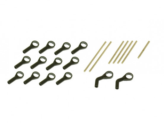 Gaui 100 & 200 Size Ball links and Thread rods for Ball 3.5mm (203211)
