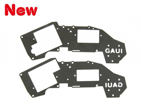 Gaui H200V2 Black Upper Frame Set for 6g~9g Servo (203447)