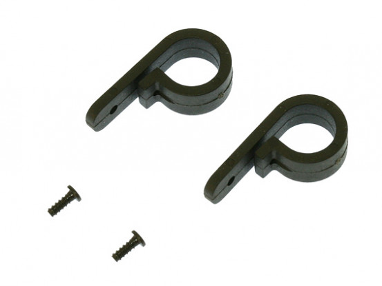 Gaui 100 & 200 Tail Servo Mount Set(for Boom 7mm)