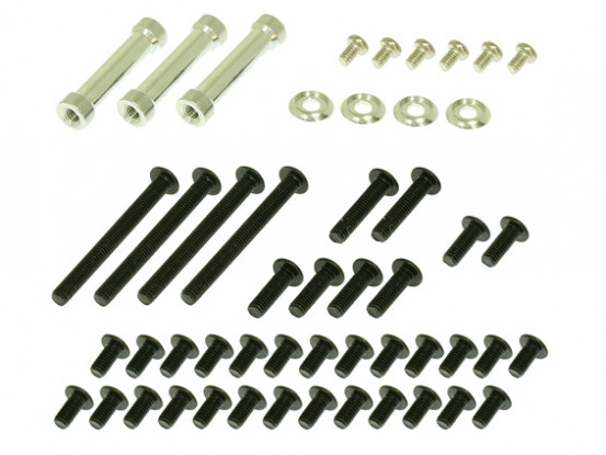 Gaui 425 & 550 H425CF Spacer & Screw pack for CF Frames