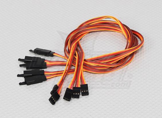 60CM Servo Lead Extention (JR) with hook 26AWG (5pcs/bag)