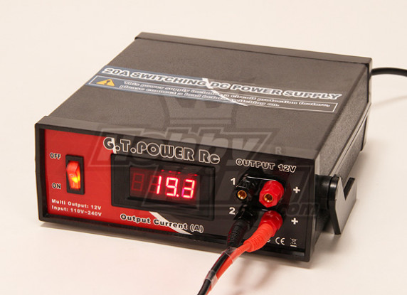 20A twin 12v switching DC Power Supply for Chargers