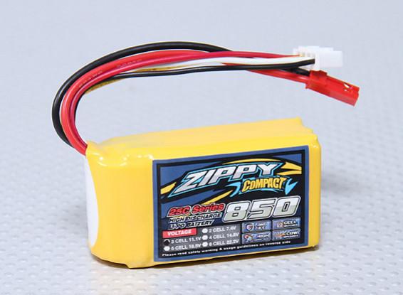 ZIPPY Compact 850mAh 3S 25C Lipo Pack