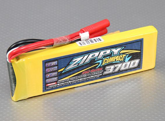 ZIPPY Compact 3700mAh 2S 25C Lipo Pack