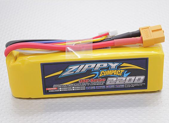 ZIPPY Compact 2200mAh 4S 35C Lipo Pack