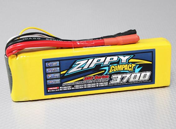 ZIPPY Compact 3700mAh 3S 35C Lipo Pack