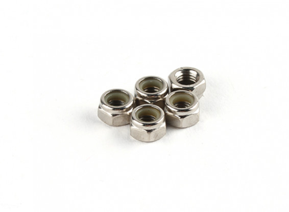 Nylon Nut M5 (5pcs/bag) - Turnigy Twister 1/5
