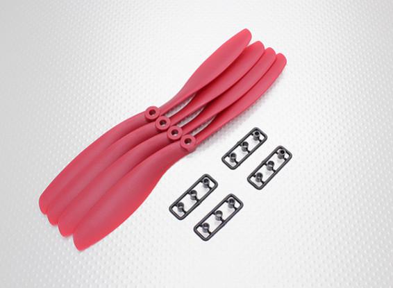 Hobbyking™ Propeller 8x4.5 Red (CW) (4pcs)