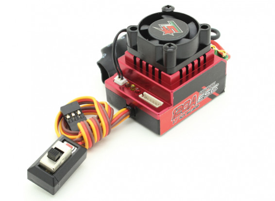 Turnigy Trackstar 120A Turbo Sensored Brushless 1/12th 1/10th ESC