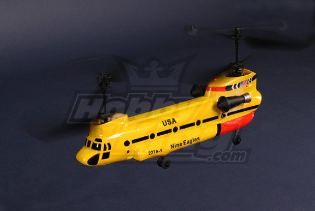 227A Twingo 2.4GHz coaxial Tandem heli Bind-&-Fly (Yellow)