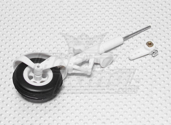 Durafly™ 310 civil aircraft 1100mm Replacement Nose Wheel Set