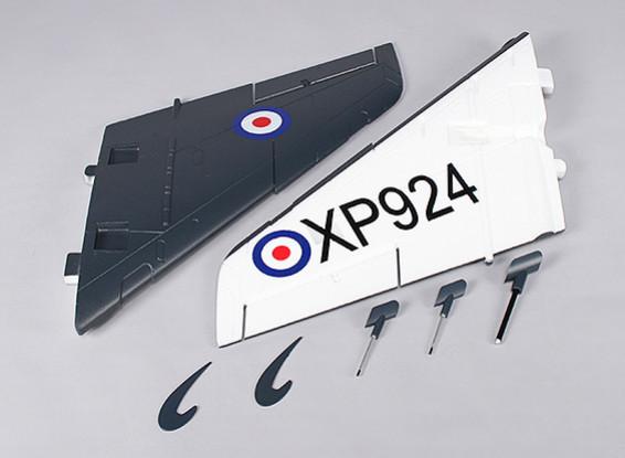 Durafly™ 1000mm Sea Vixen - Replacement Main Wing (1pair)