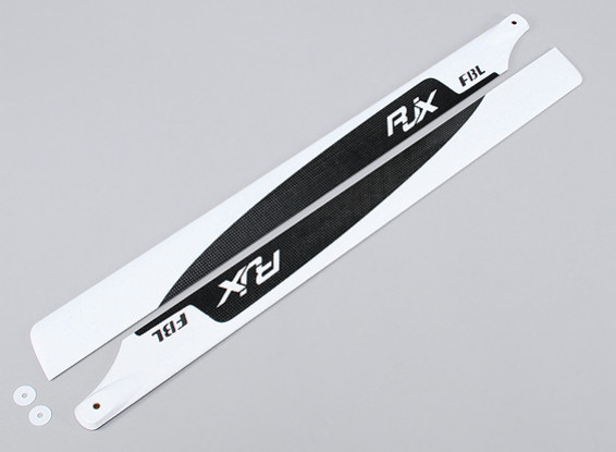 690mm Flybarless High Quality Carbon Fiber Main Blades