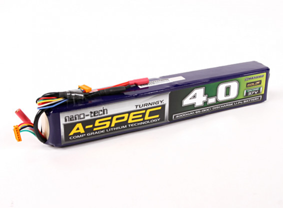Turnigy nano-tech A-SPEC 4000mah 10S 65~130C Lipo Pack