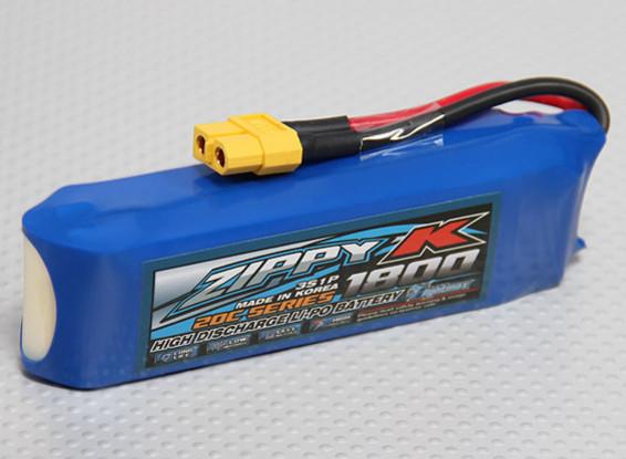 Zippy-K Flightmax 1800mah 3S1P 20C Lipoly Battery