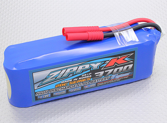 Zippy-K Flightmax 3700mah 5S1P 20C Lipoly Battery