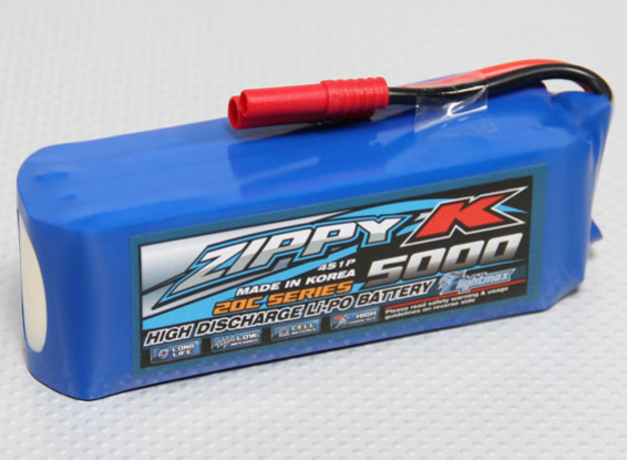 Zippy-K Flightmax 5000mah 4S1P 20C Lipoly Battery