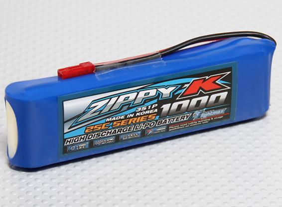 Zippy-K Flightmax 1000mah 3S1P 25C Lipoly Battery