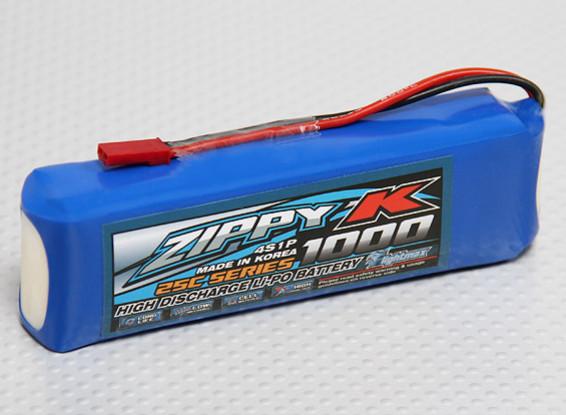 Zippy-K Flightmax 1000mah 4S1P 25C Lipoly Battery