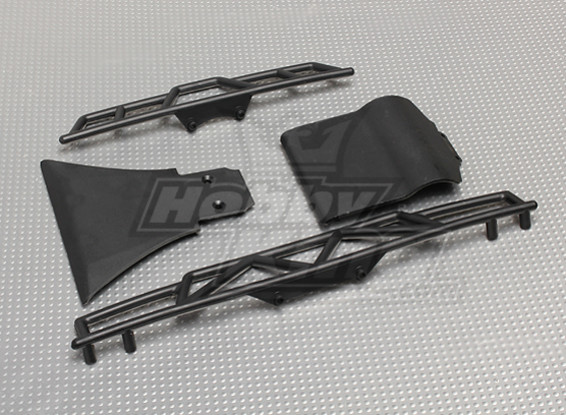 Front and Rear Bumper (1set) - A2031