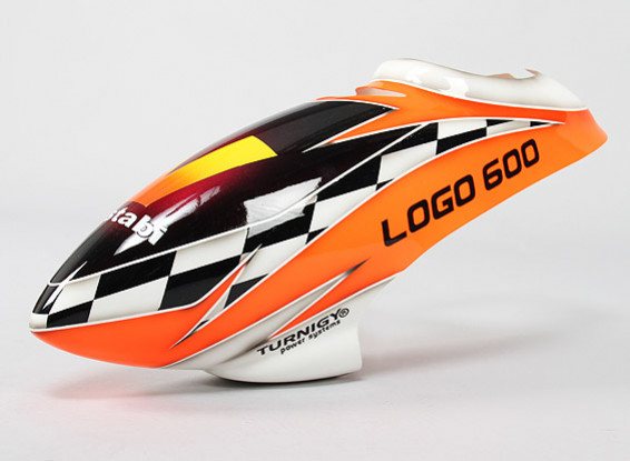 Turnigy High-End Fiberglass Canopy for Logo 600