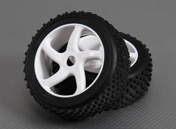 1/8 Buggy Wheel/Tire 17mm Hex (2pcs/bag)