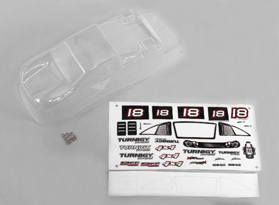 Un-painted replacement Shell w/ Decal - 118B