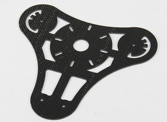 Turnigy Talon Tricopter (V1.0) - Upper Carbon Fiber Main Plate