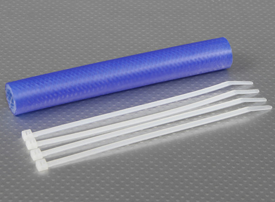 Heavy Duty Silicone Exhaust Coupler Tubing 152x13.5mm (Blue)
