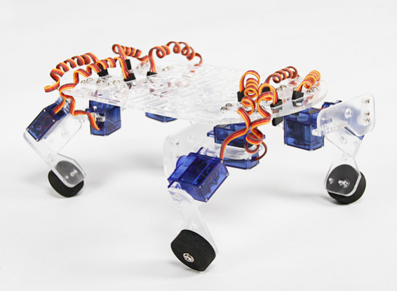 QuadBot 4 Legged Robot Chassis (Kit)