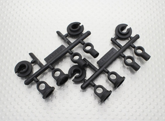 Damper Plastic Replacement Turnigy TD10 4WD Touring Car (2 sets)
