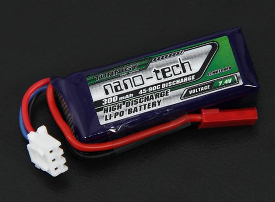 Turnigy nano-tech 300mah 2S 45~90C Lipo Pack