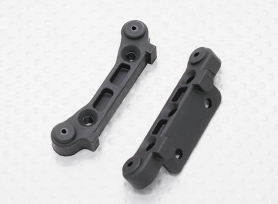 Plastic Rear Susp. Holder - 1/10 Quanum Vandal 4WD Racing Buggy / Desert Fox (2pcs)