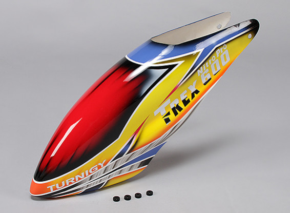Turnigy High-End Fiberglass Canopy for Trex 600 Nitro Pro