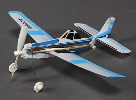 Rubber Band Powered Freeflight AG Husky 292mm Span