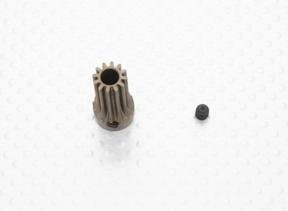 """""""Hard One"""" 0.7M Hardened Helicopter Pinion Gear 5mm Shaft - 12T"""