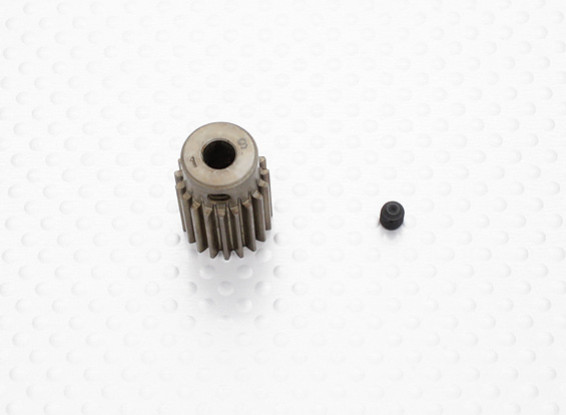"""""""Hard One"""" 0.7M Hardened Helicopter Pinion Gear 5mm Shaft - 19T"""