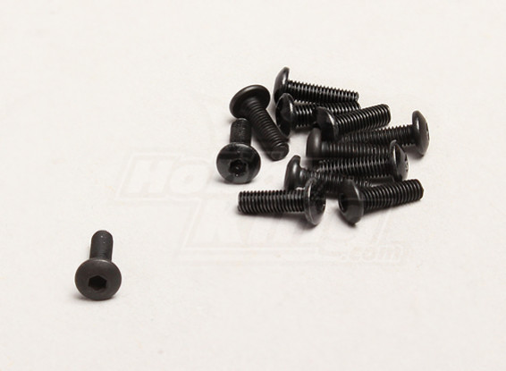 M3x10mm Hex Screw (12pcs/bag) - Turnigy Trailblazer XB and XT 1/5