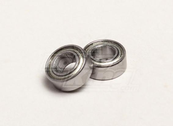 Ball Bearing 5x10x4mm (2pcs/bag) - Turnigy Trailblazer 1/8, XB and XT 1/5