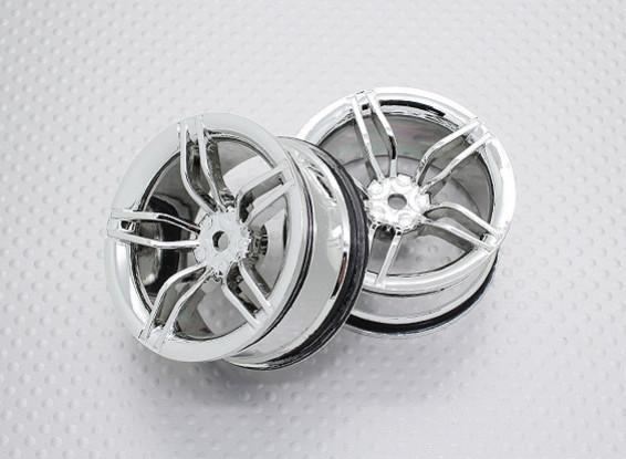 1:10 Scale High Quality Touring / Drift Wheels RC Car 12mm Hex (2pc) CR-FFC