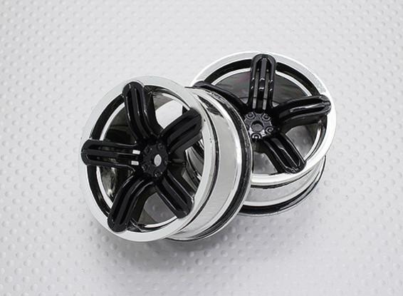 1:10 Scale High Quality Touring / Drift Wheels RC Car 12mm Hex (2pc) CR-RS6K