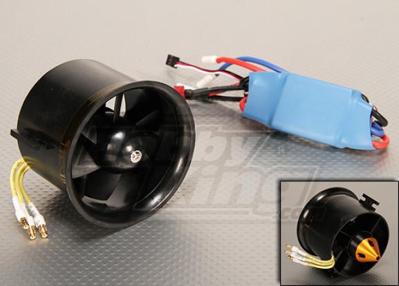 HK EDF70 Brushless Power System 2800kv & 45A ESC