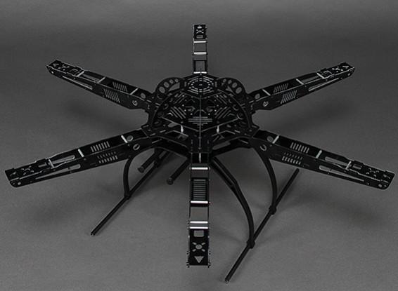 HobbyKing S650 Glass Fiber Hexcopter Frame 655mm