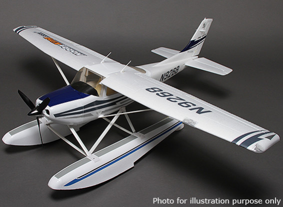 Float Set for Hobbyking 182 Civil Aircraft 500 Class Airplane