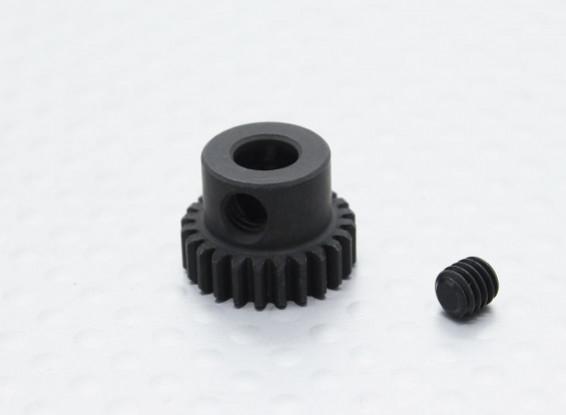 24T/5mm 48 Pitch Hardened Steel Pinion Gear
