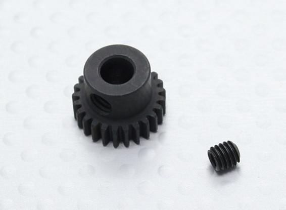 25T/5mm 48 Pitch Hardened Steel Pinion Gear